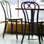 heart bentwood chair