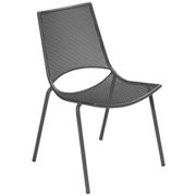 ala side chair antique iron