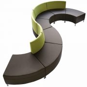 curved abaco ottoman