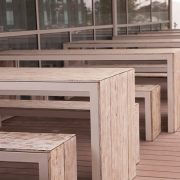dori table and bench