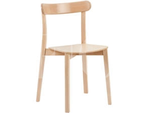 icho cafe chair in natural stain